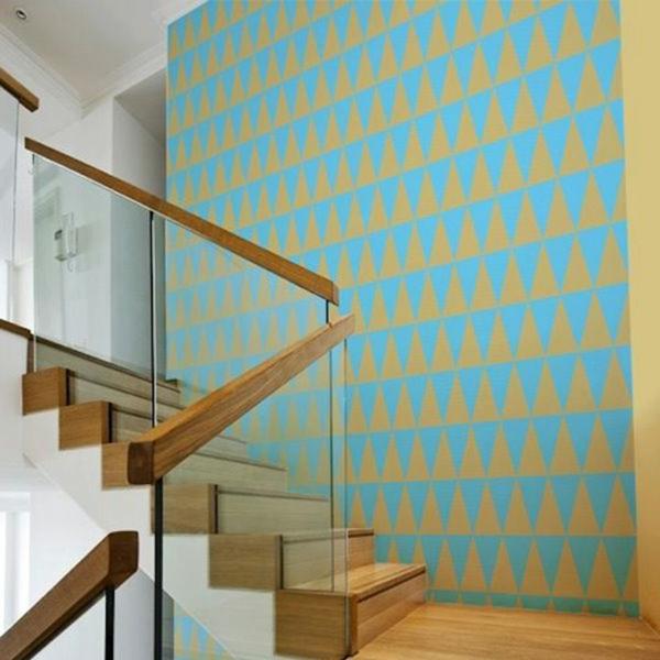 Einrichtungsideen für schöne Möbel & Wohnen treppe flur tapeten