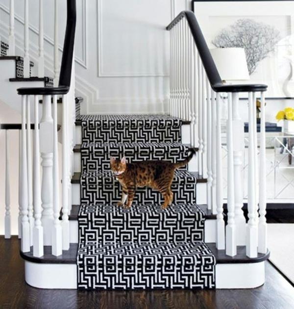 Einrichtungsideen für schöne Möbel & Wohnen treppe teppich
