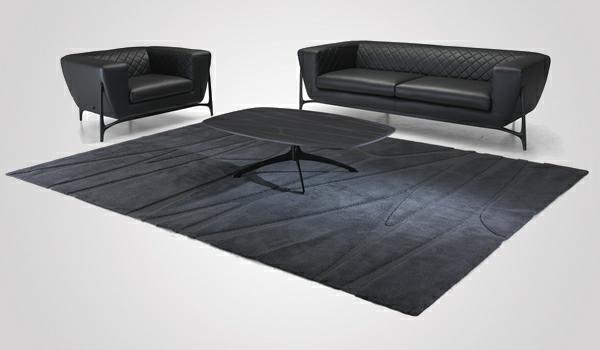 Möbel Kollection von Mercedes Benz teppich schwarz set