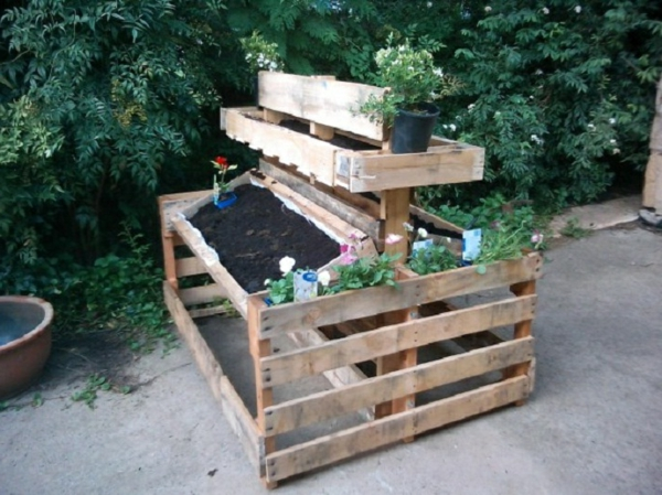 Raised Beds Made Of Pallets