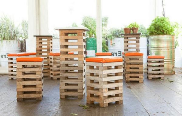 Europaletten recyceln diy m bel aus holzpaletten for Barhocker garten