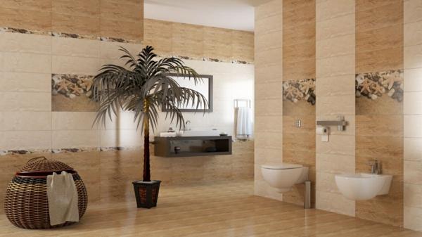 Badezimmer Braun Weis ? Goldchunks.info Dekoideen Badezimmer Farbe Braun Und Weis