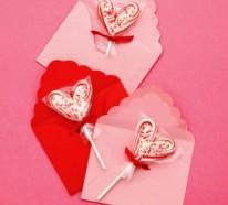 Geschenke und Dekoration zum Valentinstag selbst machen