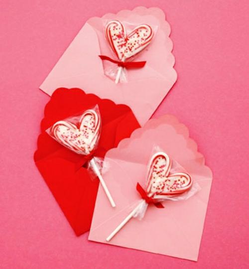 Geschenke und Dekoration zum Valentinstag selbst machen süß