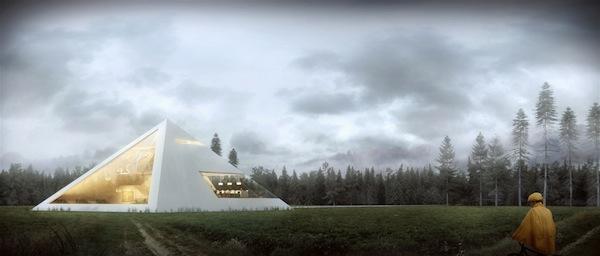 Haus-in-Form-von-Pyramide-entwurf-haus-außenbereich