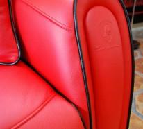 Die Montecarlo Möbel und der Imola S Sessel von Tonino Lamborghini