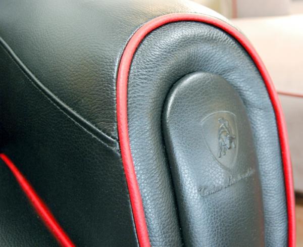Imola S Sessel von Tonino Lamborghini schwarz originell