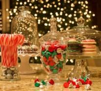 Leichte Deko für Weihnachten und Neujahr