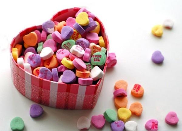 Low Cost Valentinstag Geschenke Originell Bonbons