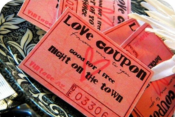 Low Cost Valentinstag Geschenke originell rot