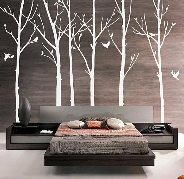 modernes wandtattoo wandgestaltung trends 2014. Black Bedroom Furniture Sets. Home Design Ideas