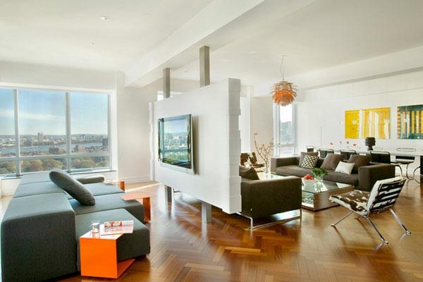 Raumteiler Küche Wohnzimmer gemütlich küche und wohnzimmer trennwand ideen bilder küchen ideen