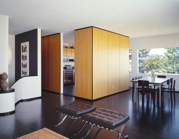 Raumteiler und Trennwand union studio schrank küche esszimmer privat