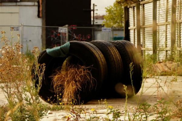 ReTyre Carl Menary design sitzplatz idee erdbeben NZ neuseeland
