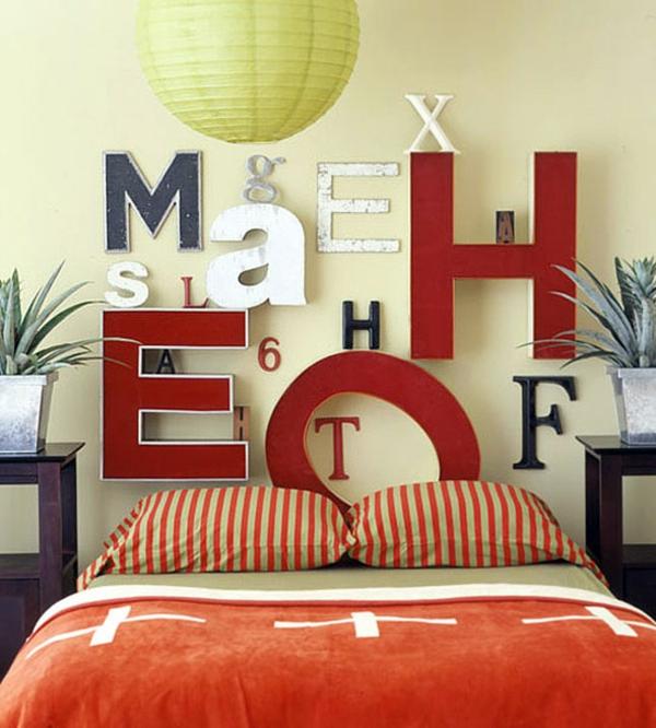 gestalten Schlafzimmer kopfteil ABC