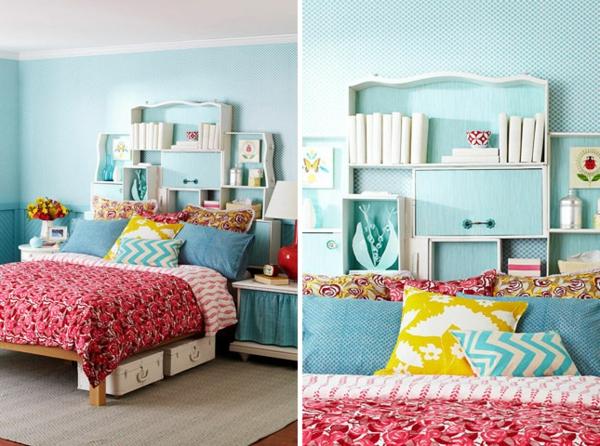 Schlafzimmer gestalten coole diy kopfteile