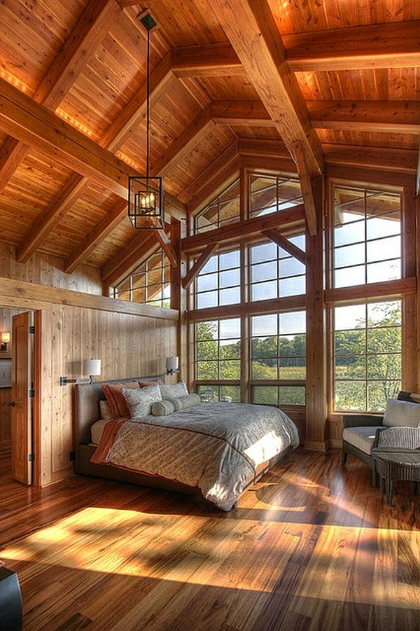 Tageslicht zu Hause mit Stil fenster zimmerdecke holz abgehängt