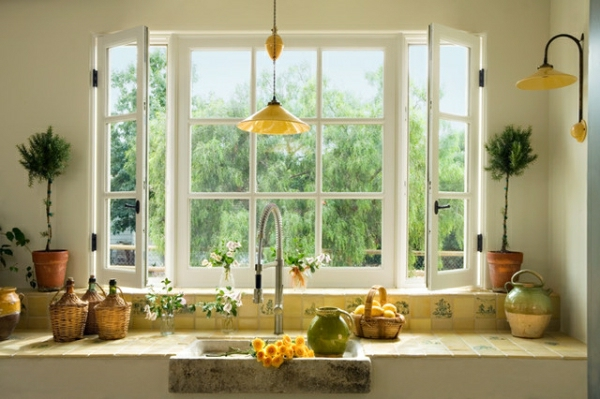 Tageslicht zu Hause mit Stil küche rustikal traditionell