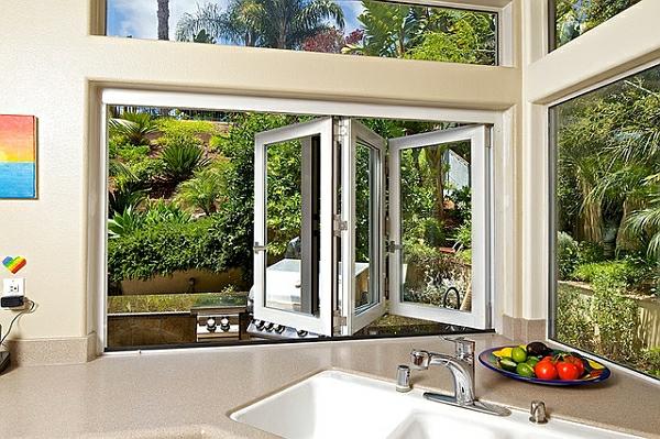 Tageslicht zu Hause mit Stil küche natur umgebung