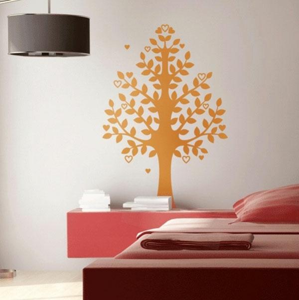 wandsticker baum tattoo. Black Bedroom Furniture Sets. Home Design Ideas