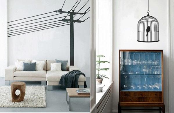 wandtattoos und wandsticker coole wanddeko. Black Bedroom Furniture Sets. Home Design Ideas
