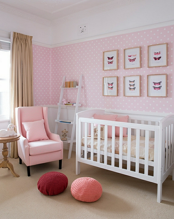 Babyzimmer weiß grau rosa  Chestha.com | Dekor Rosa Babyzimmer