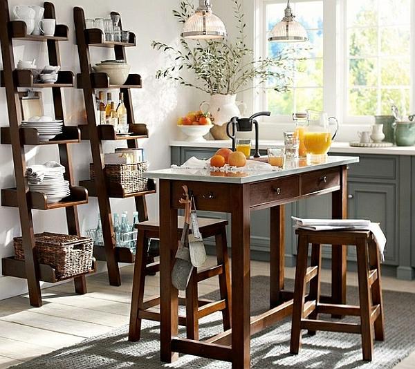 Dining room design 2013 - Wohnideen Leiterregal Und Dekoartikel Holz M 246 Bel Esszimmer Elegant