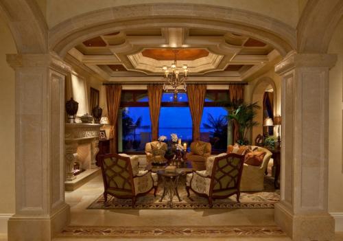 Wohnideen für Deckengestaltung beleuchtung klassisch