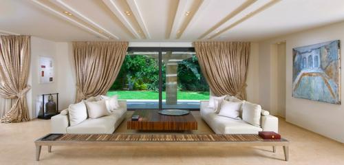 Wohnideen für Deckengestaltung beleuchtung wohnzimmer