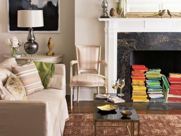 Wohnideen für einen cool dekorierten bücher