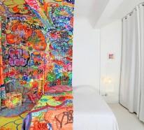 Art Hotel in Marseille bietet Zimmer mit gespaltenem Design an