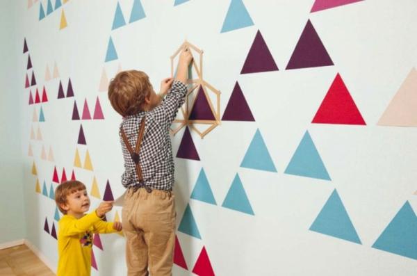 Design Tapeten Sehr Beliebt : Besonders Kinder werden von den magnetischen Tapeten sehr fasziniert