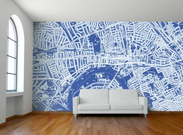 Sch?ne Ausgefallene Tapeten : Ausgefallene Tapeten Designs f?r Ihre schicke Wanddekoration