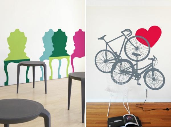 Ausgefallene Tapeten Muster : Ausgefallene Tapeten Designs f?r Ihre schicke Wanddekoration