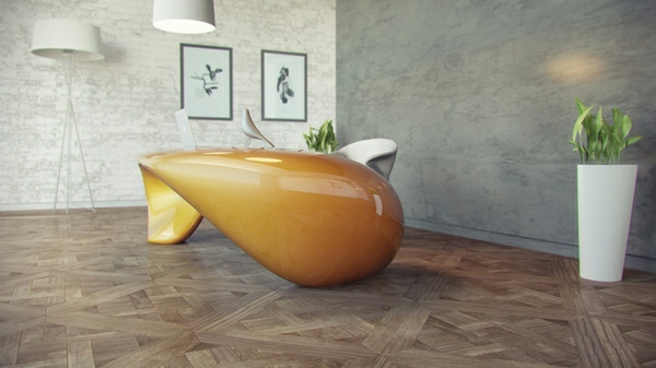 Schreibtisch design evfyra nuvist moderne buroeinrichtung for Buromobel hochwertig