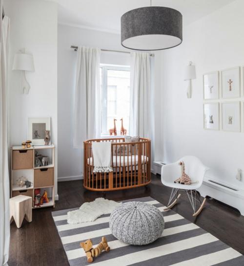 babyzimmer komplett gestalten  ideen kinderbett möbel wohnen