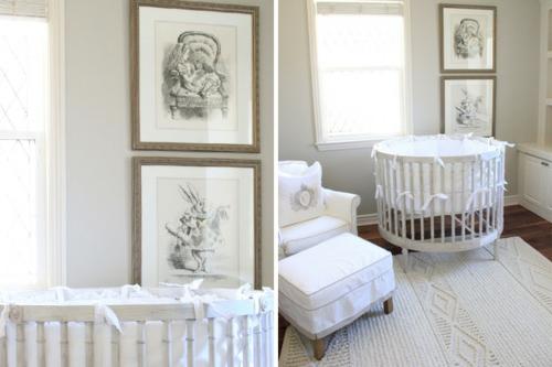 babyzimmer komplett gestalten weiß einrichtung bilder