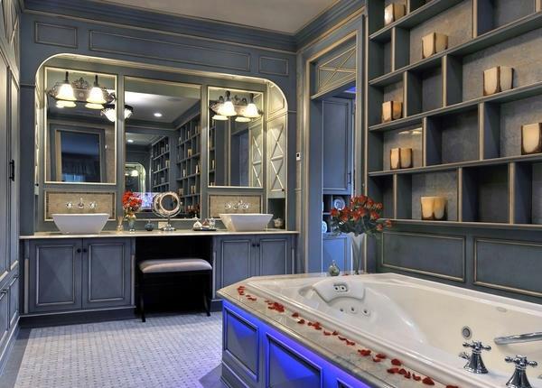 badausstattung ideen 13 ultimative badezimmer mit romantischem flair. Black Bedroom Furniture Sets. Home Design Ideas