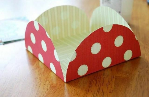 bastelideen papier briefumschlag bunt design
