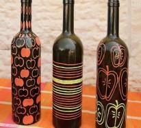 Basteln mit Glasflaschen – 15 kreative DIY Ideen, die Ihnen Spaß machen