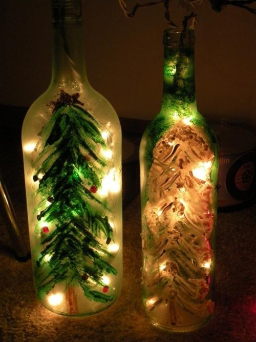 ... Basteln mit Glasflaschen – 15 kreative DIY Ideen, die Ihnen Spaß