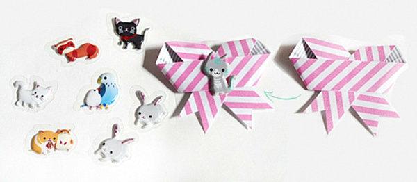 coole Dekoideen für Geschenkverpackung papierband geschenke