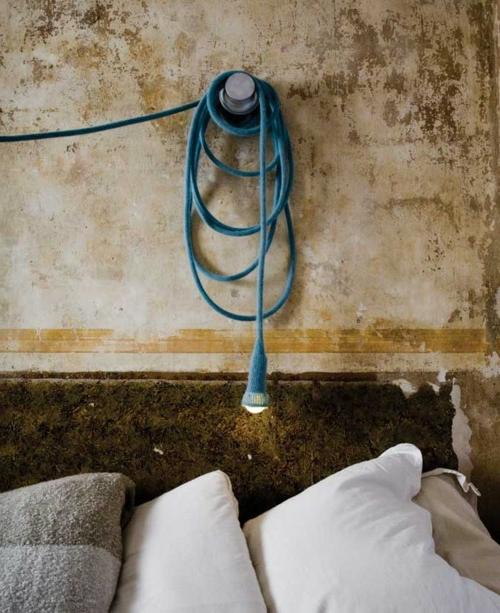 diy lampen aus glühbirnen industriell schlafzimmer