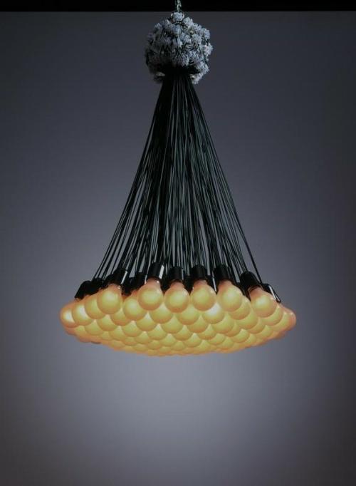 diy lampen aus glühbirnen kronleuchter