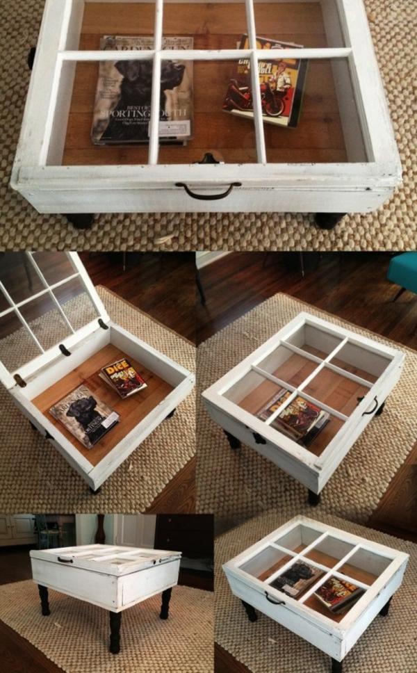Couchtisch selber bauen - 18 originelle DIY Ideen zum Nachmachen