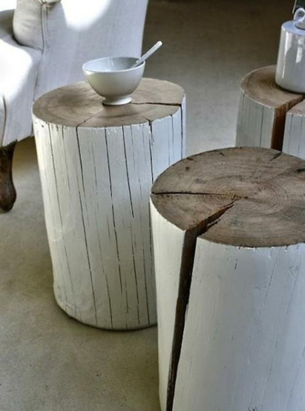 Couchtisch rustikal selber bauen  Couchtisch selber bauen - 18 originelle DIY Ideen zum Nachmachen
