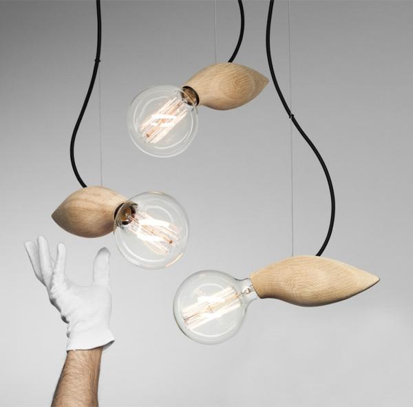 designer lampe mit organischen formen und skandinavischem touch. Black Bedroom Furniture Sets. Home Design Ideas