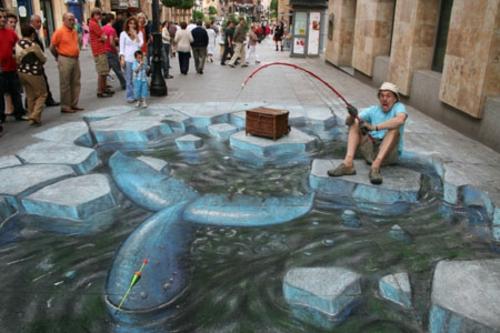 erstaunlich-straßenkunst-zeichnungen-angeln