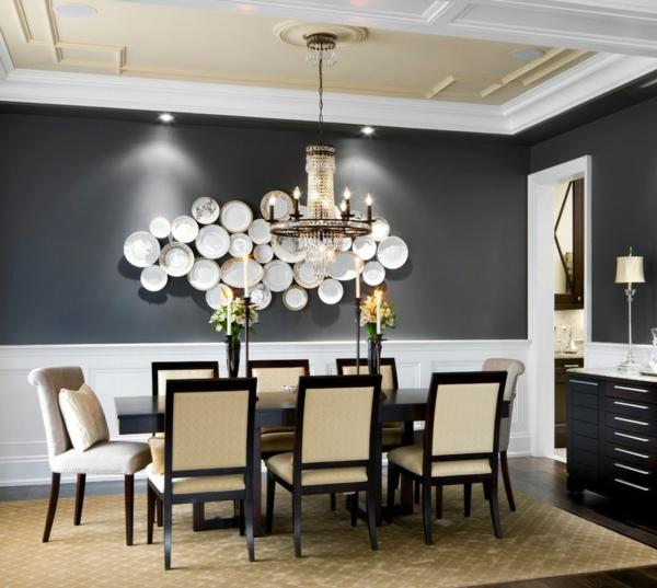 esszimmer ideen zum nachmachen wie sie den raum wohnlicher gestalten. Black Bedroom Furniture Sets. Home Design Ideas