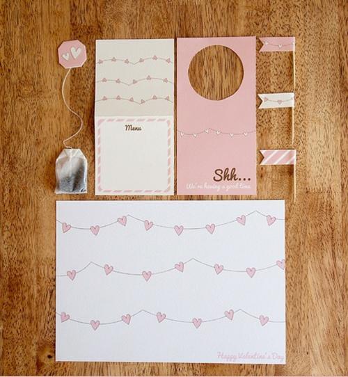 geschenke zum valentinstag basteln kreative ideen aus papier. Black Bedroom Furniture Sets. Home Design Ideas